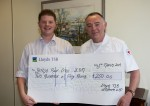 STAFF FUNDS UP CHARITY THROUGH DRESSING DOWN