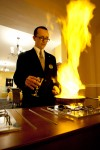 Flambe at the Sefton's Gallery Restaurant